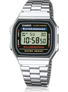 orologio casio vintage-a168wa-1yes
