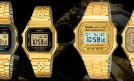 orologi casio oro