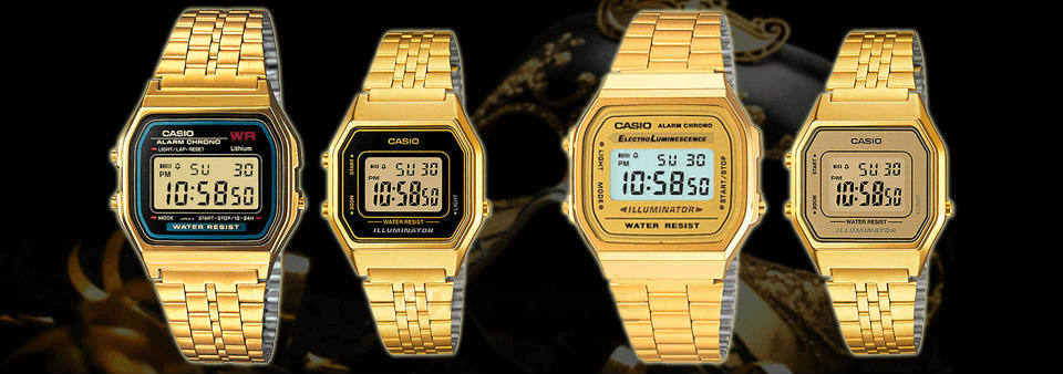 Casio oro: i modelli più luccicanti