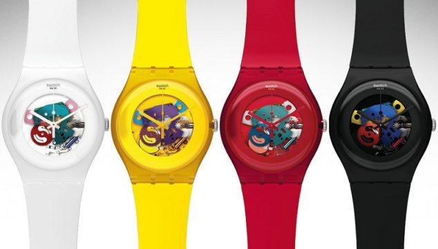 Orologi Swatch: precisione svizzera in 51 elementi