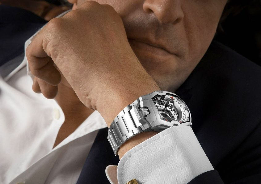 orologi uomo look