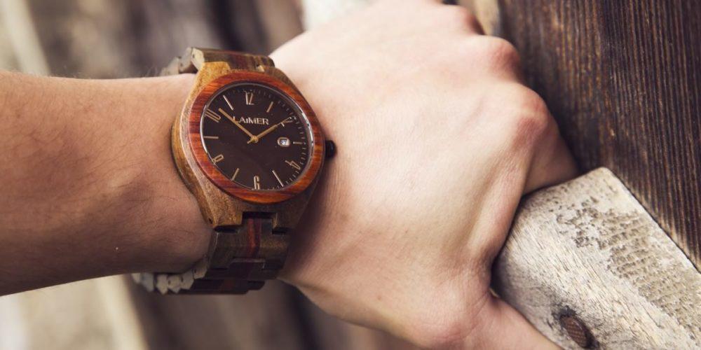 orologi uomo in legno