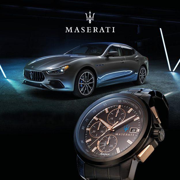 Collezione Maserati orologi
